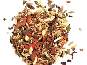 Sipping Licorice Spice Tea 1oz