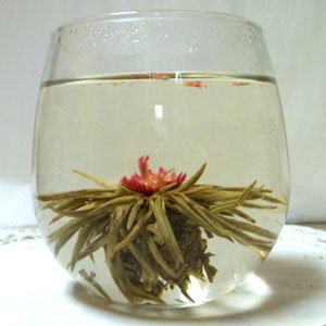Flowering tea 'Lantern Festival' (4 blossoms)