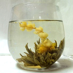 Flowering tea 'Peach Fairy' (4 blossoms)