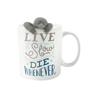 Live Slow infuser and mug gift set